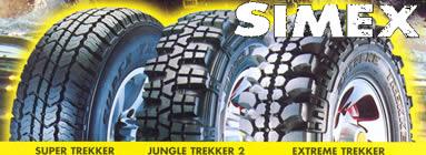 Simex tyres